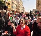 مسيرة الحركة النسوية في غزة بمناسبة آذار