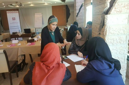 تدريب الإعلاميين على تطوير الخطاب الاعلامي حول قضايا  العنف ضدالمرأة